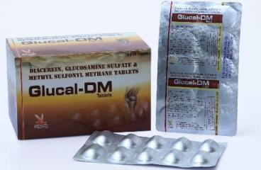 GLUCAL-DM TAB